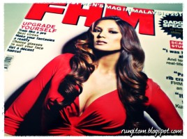 Andrea Fonseka, cover model for April edition