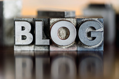 "The word ""BLOG"""