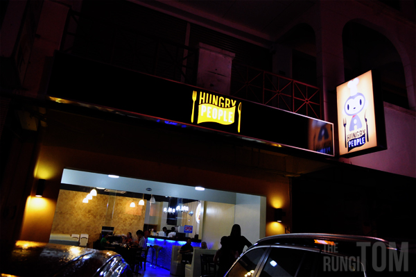 outside Hungry People A Lifestyle Eatery @ Lintas Plaza