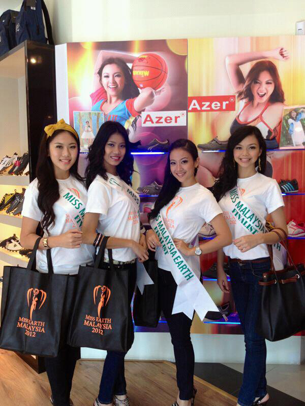 MES 2012 at Azer Miss Earth Malaysia 2012: Journey of our Environment Crusaders