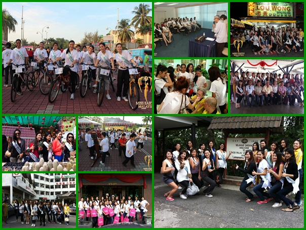 Miss Earth Malaysia 2012 activity