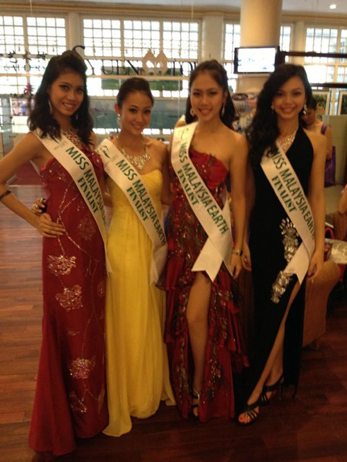 Miss Earth Sabah in evening gown Miss Earth Malaysia 2012: Journey of our Environment Crusaders