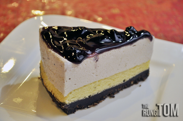 blueberry cheese cake Yu Cafe, Luyang