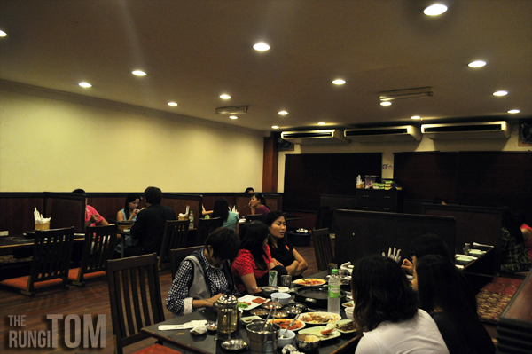 further inside another view Bintulu Korean Restaurant, Lintas Plaza