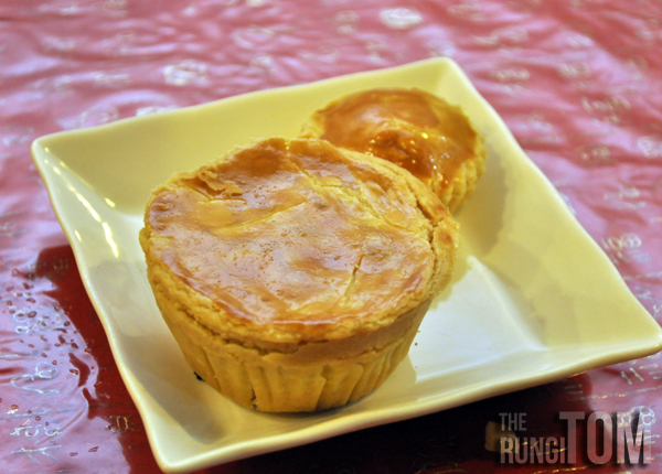 mini chicken pie Yu Cafe, Luyang