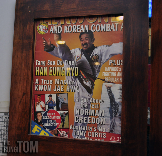 records of a martial arts practitioner Bintulu Korean Restaurant, Lintas Plaza