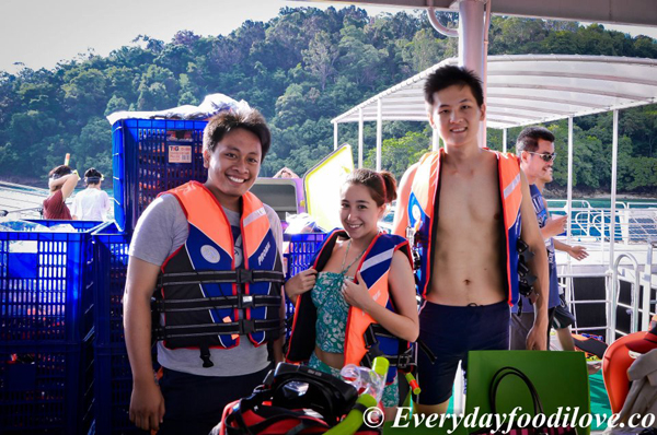 the bloggers My Waterworld: Borneo Reef World