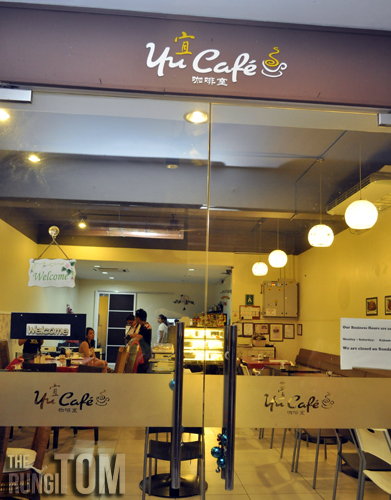 yu cafe entrance