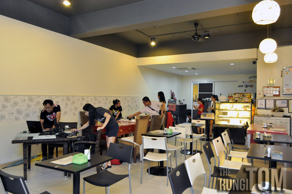 yu cafe environment Yu Cafe, Luyang