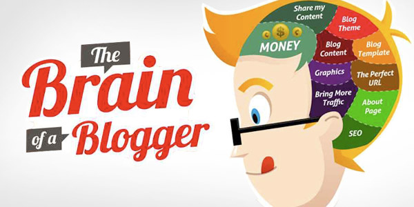 infographic-Brain-of-a-Blogger