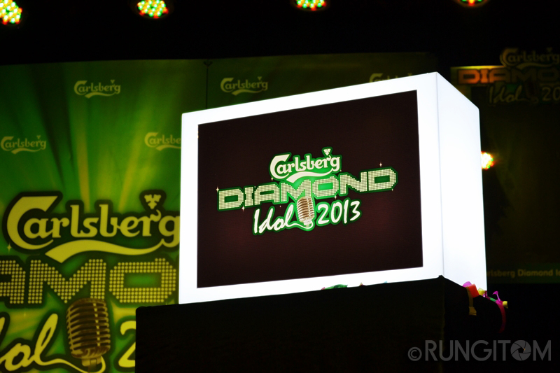 Carlsberg Diamond Idol 2013 launch night