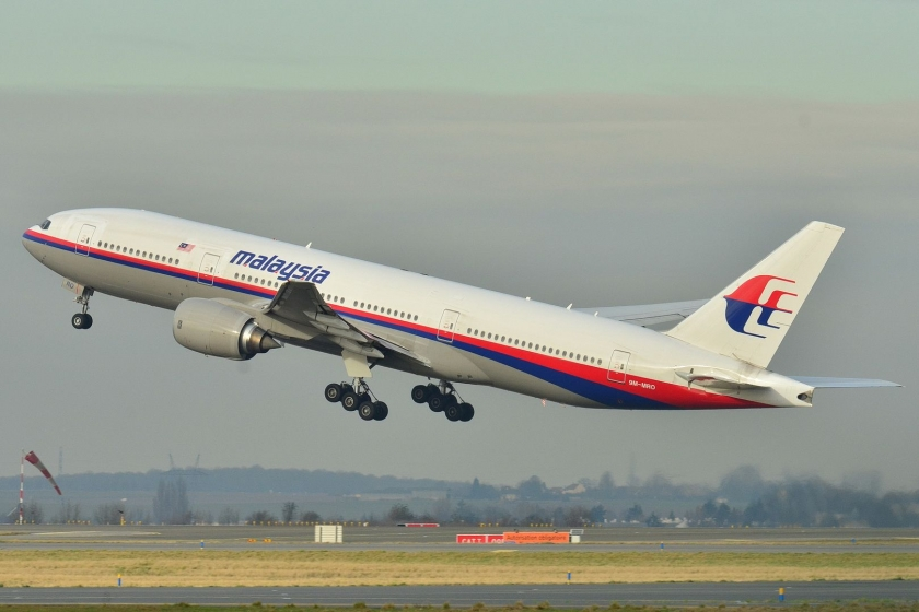 The Boeing 777-236ER used for the Malaysia Airlines flight MH370. Photo: WikiMedia Commons