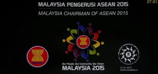Malaysia's Chairmanship of ASEAN 2015 stamp issue