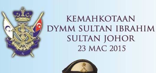 Coronation of KDYMM Sultan Johor 2015 cover