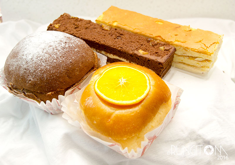 signature bread and cakes